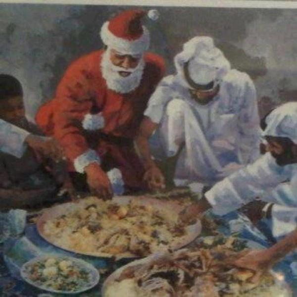 Middle East Santa