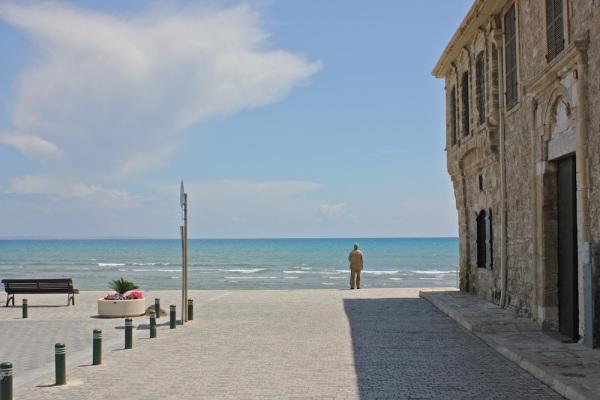 Larnaca seaside.