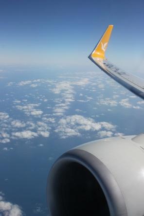 En route to Paris.