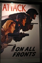 Vintage posters from wartime United States.