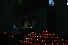 Inside the Basilica.