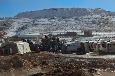 The town of Arsal is becoming a makeshift refugee camp for Syrians fleeing the fighting in border towns like Qalamoun and Al Qusair that have seen very heavy fighting in the last seven months. Aid to these camps is brought in by private charities like Lebanese for Syrians. Photo by Omar Alkalouti