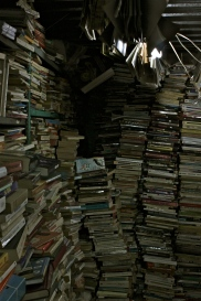 Book stall in Souk al-Ahad.