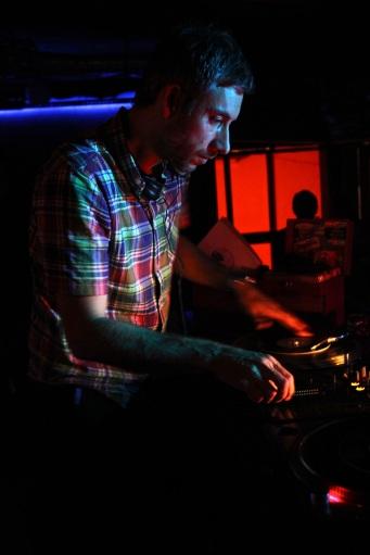 Matt Ford aka DJ Format at Yukunkun.