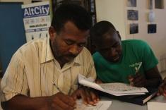 English students at MWTF.